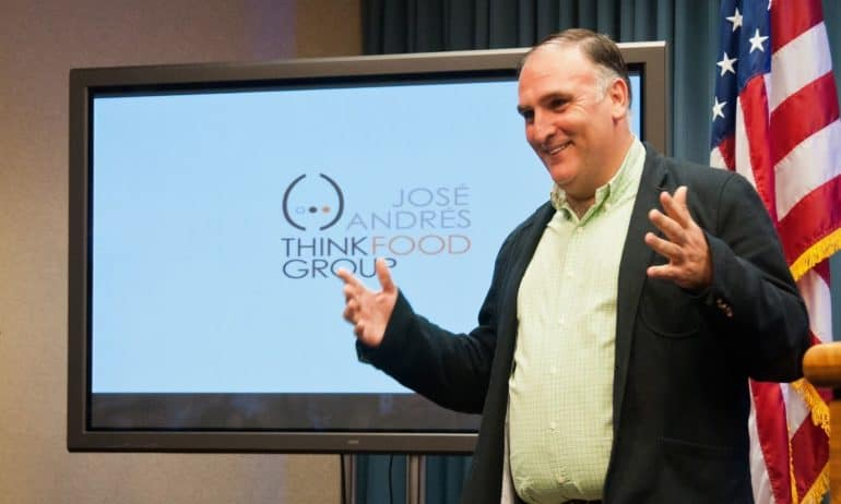 Chef Jose Andres and World Central Kitchen are Committed to Smart ...