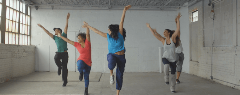 Garjana, a new fitness concept to raise money for Food Tank, is bringing together hundreds of New Yorkers for a one-hour completely immersive dance workout experience.