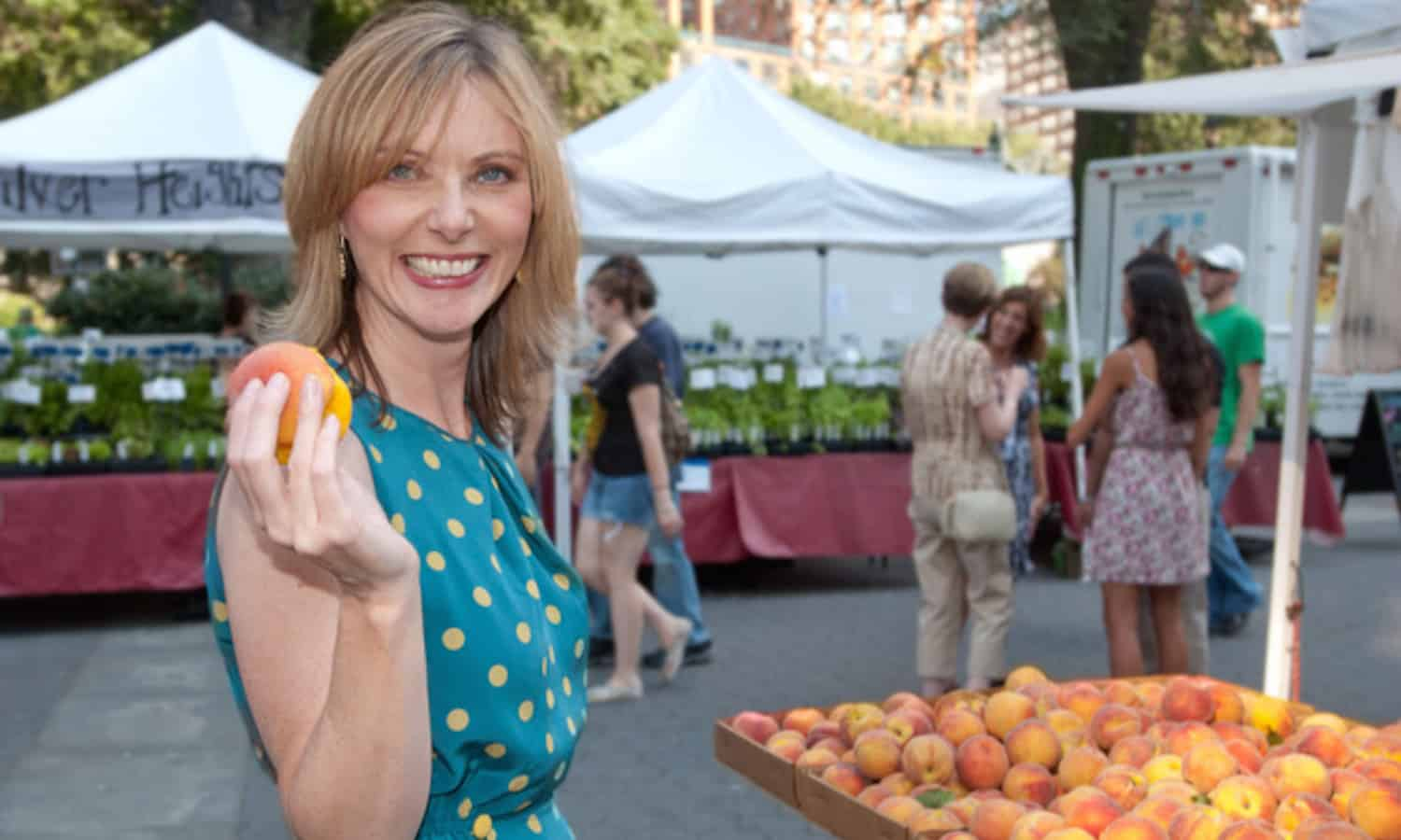 """Clean Plates Editorial Director Tanya Steel: """"Good health starts at the plate"""""""