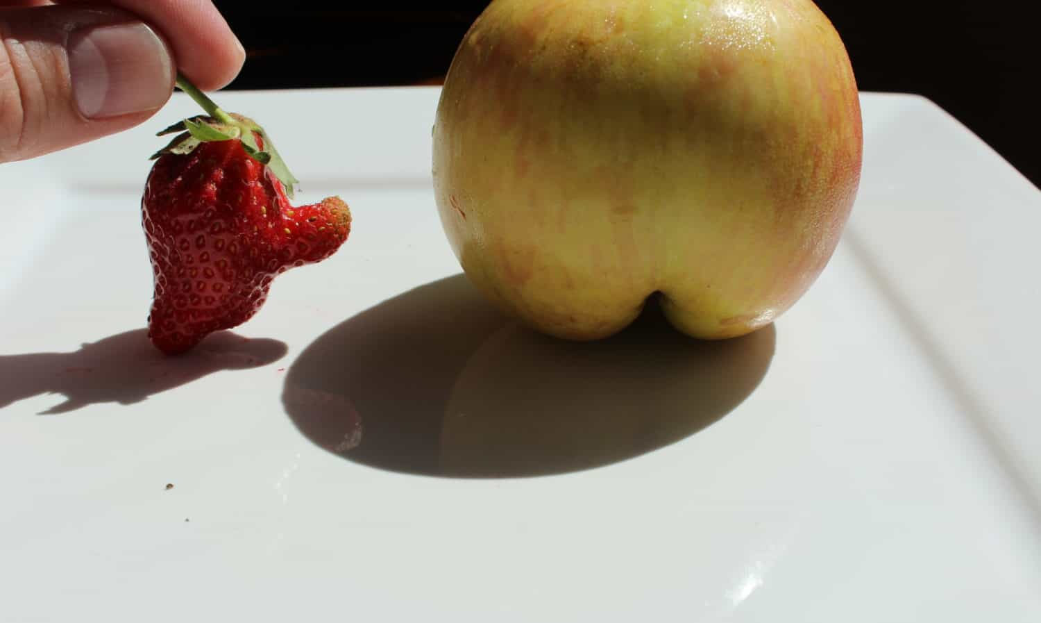 Kids love ugly fruit, they know that wasting good food, based on the way it looks, is just wrong!
