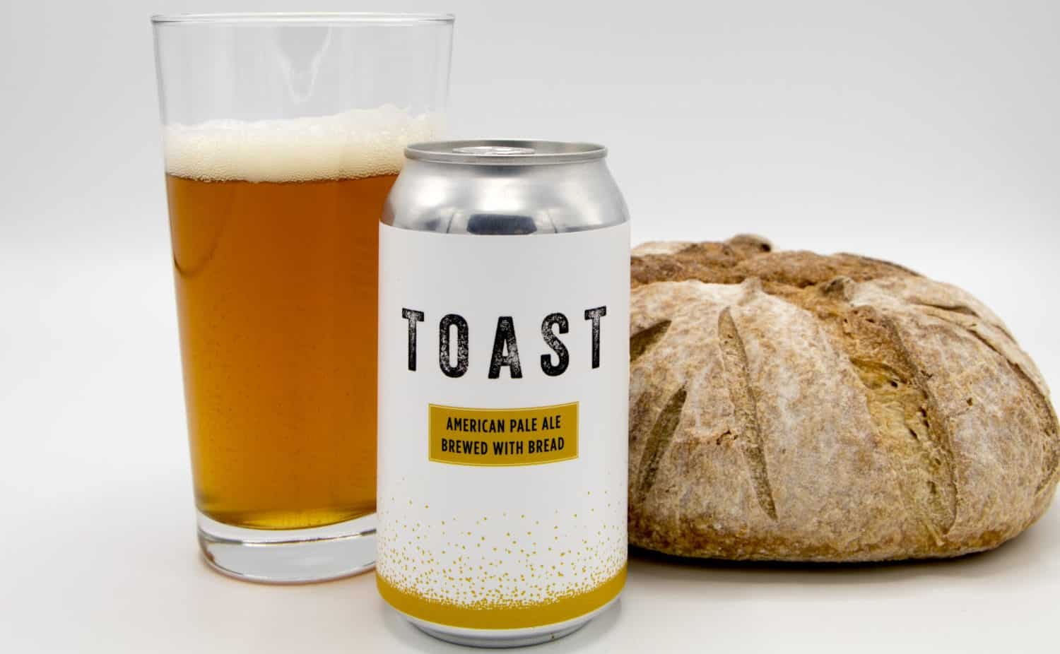 New beer company repurposes tossed bread to reduce food waste and is sparking a rev-ale-ution.