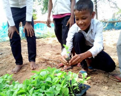 Sowing the seeds for sustainable development: From weekly trainings to group discussions with the future agripreneurs of Northwest Cambodia.