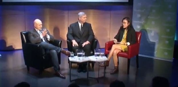 Fireside Chat featuring Tom Vilsack, President and CEO, U.S. Dairy Export Council and Tom Colicchio, Chef and Owner, Craft restaurants & 'Wichcraft. Moderated by Venessa Wong, Deputy Business Editor, BuzzFeed Food