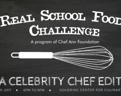 The Chef Ann Foundation is challenging a group of New Orleans' most prominent chefs to create healthy school lunch recipes for just US$1.25 per meal.