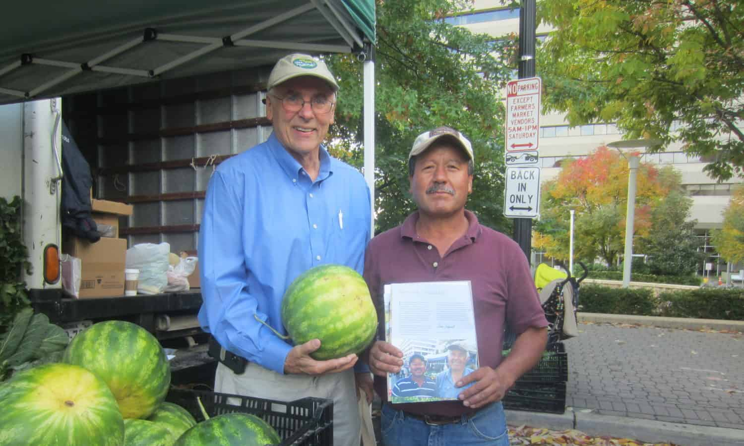Gus Schumacher, food justice advocate and farmers market proponent, passed away at age 77.