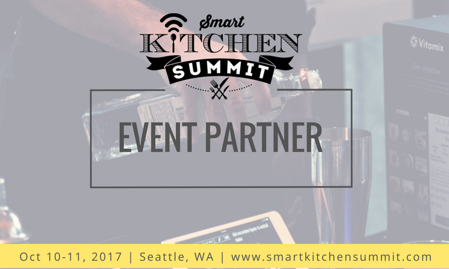 The third annual Smart Kitchen Summit (SKS) will be held on October 10 and 11, 2017, at Benaroya Hall in Seattle, Washington.