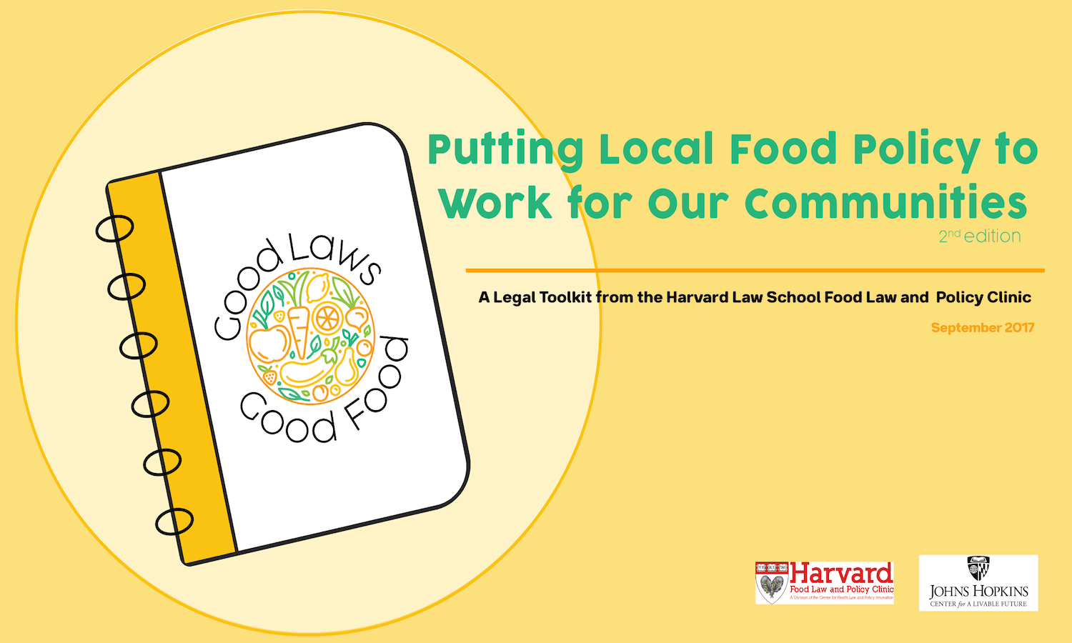 The second edition of the Good Laws Good Food toolkit helps food advocates and organizations enact change in their local food system.