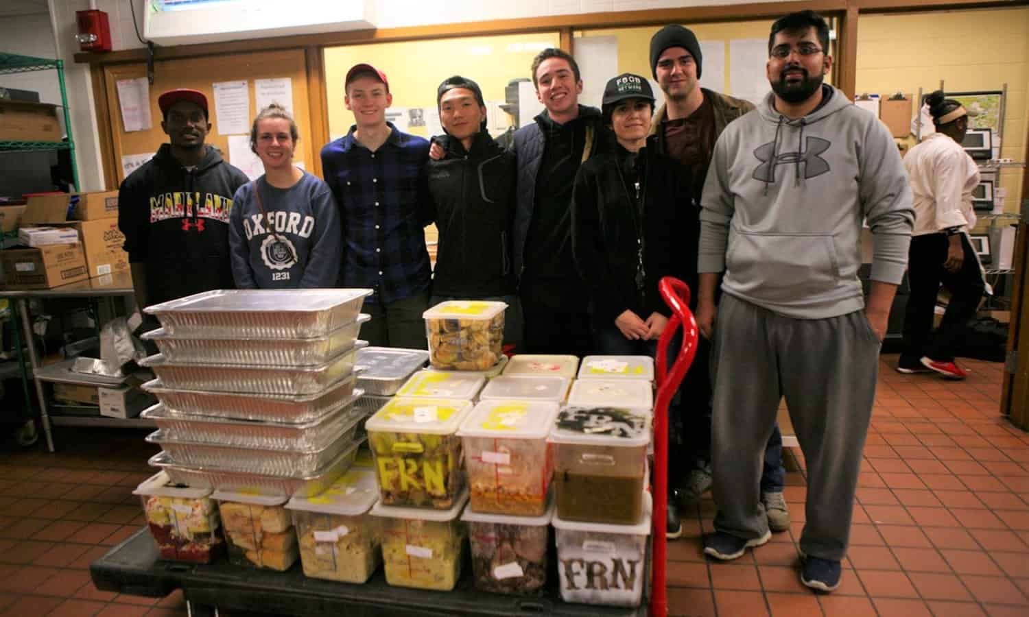 FRN is a large network working to prevent perfectly edible food from being wasted on school campuses - learn how to start at FRN Chapter at your school!