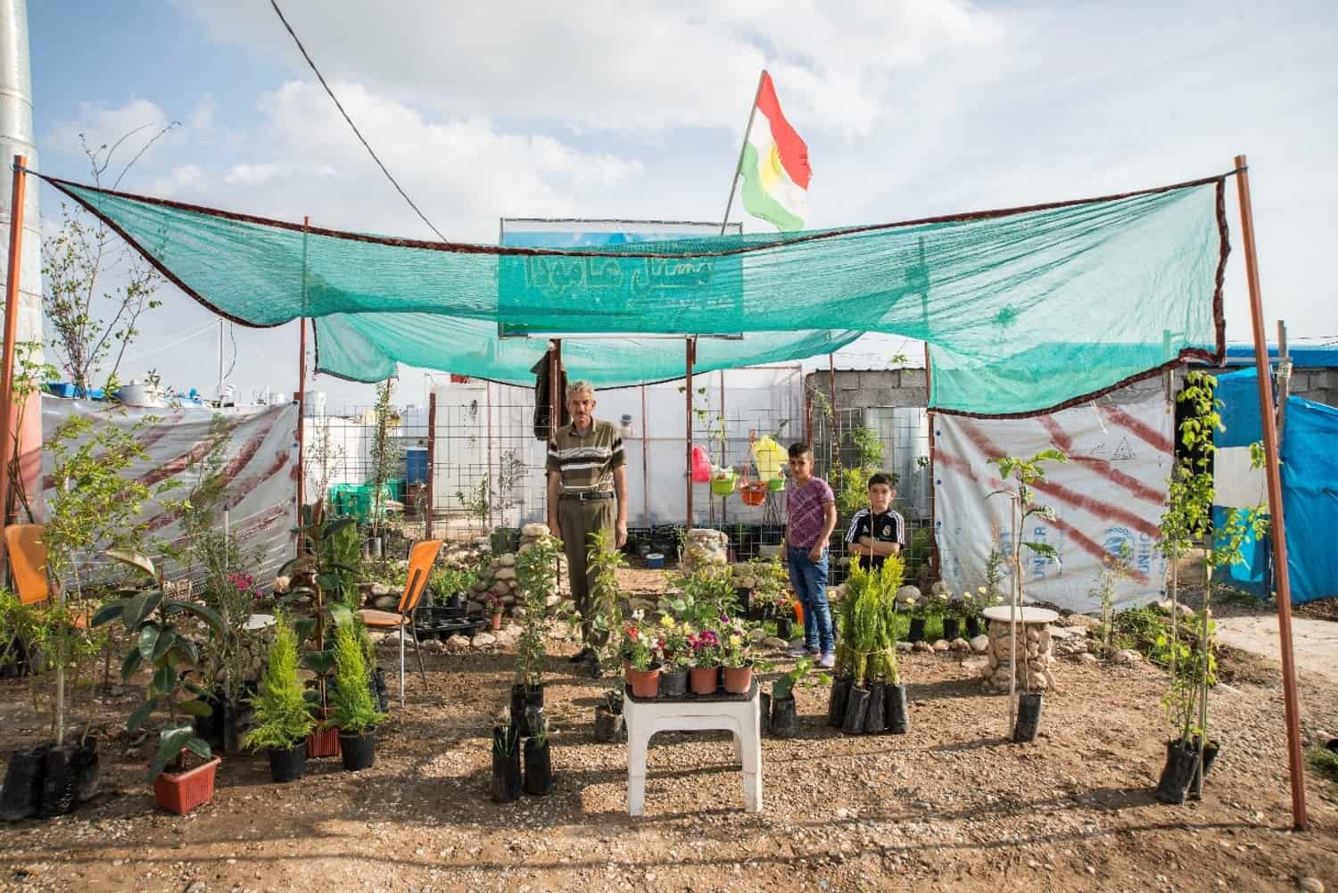Greening innovation for sovereignty, empowerment, and dignity in Iraqi refugee camps.