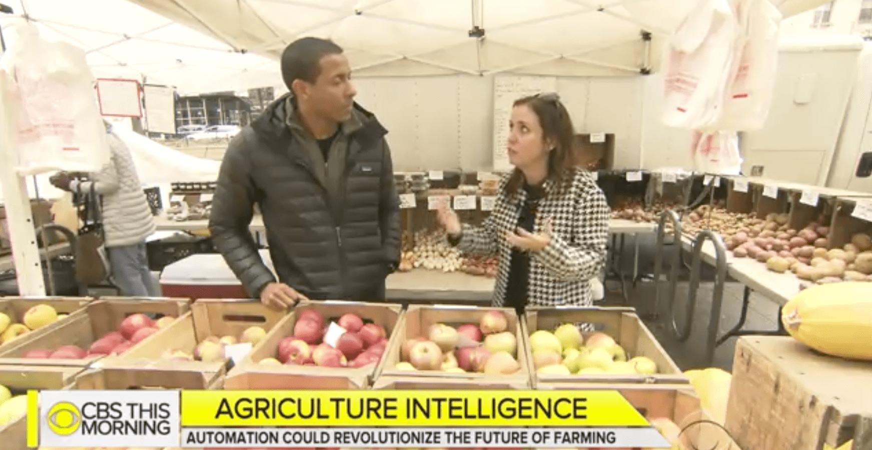 CBS News: Artificial Intelligence could Revolutionize Farming