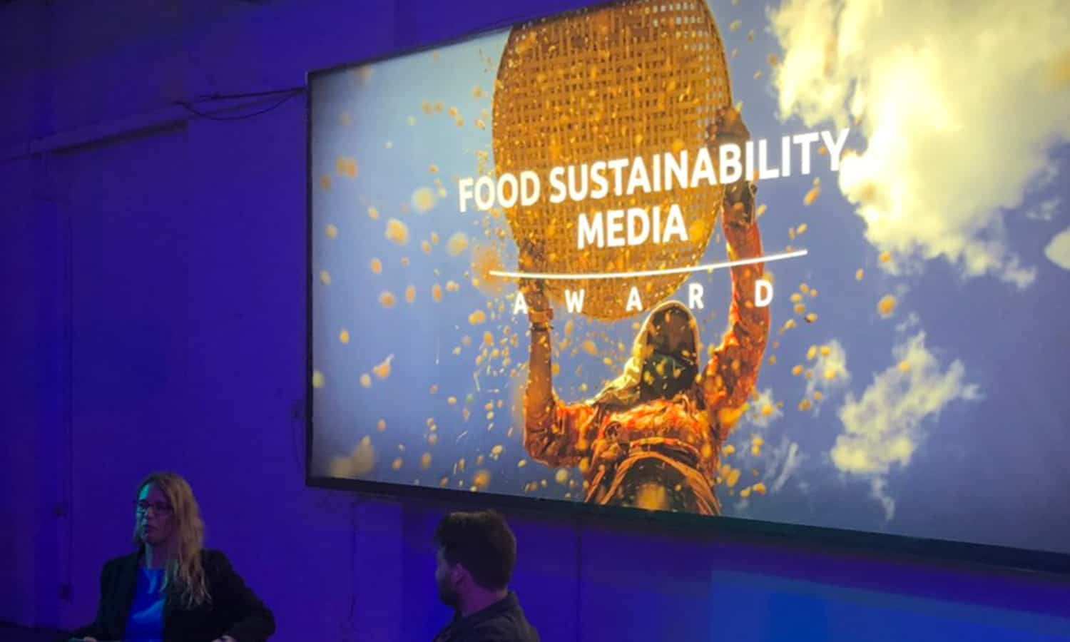 A celebration of the Food Sustainability Media Awards put the spotlight on stories of food that not only tastes good but does good for society and the plant by contributing to a more sustainable food system.