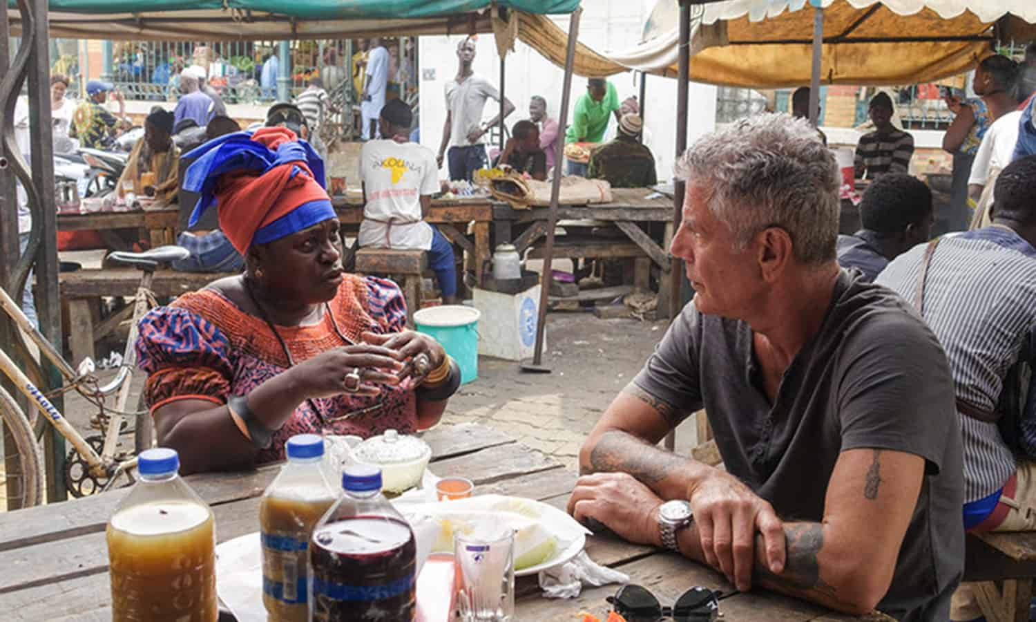 As a fearless traveler and gifted storyteller, Anthony Bourdain educated on the need for food waste solutions and presented food as sources of joy, connection.