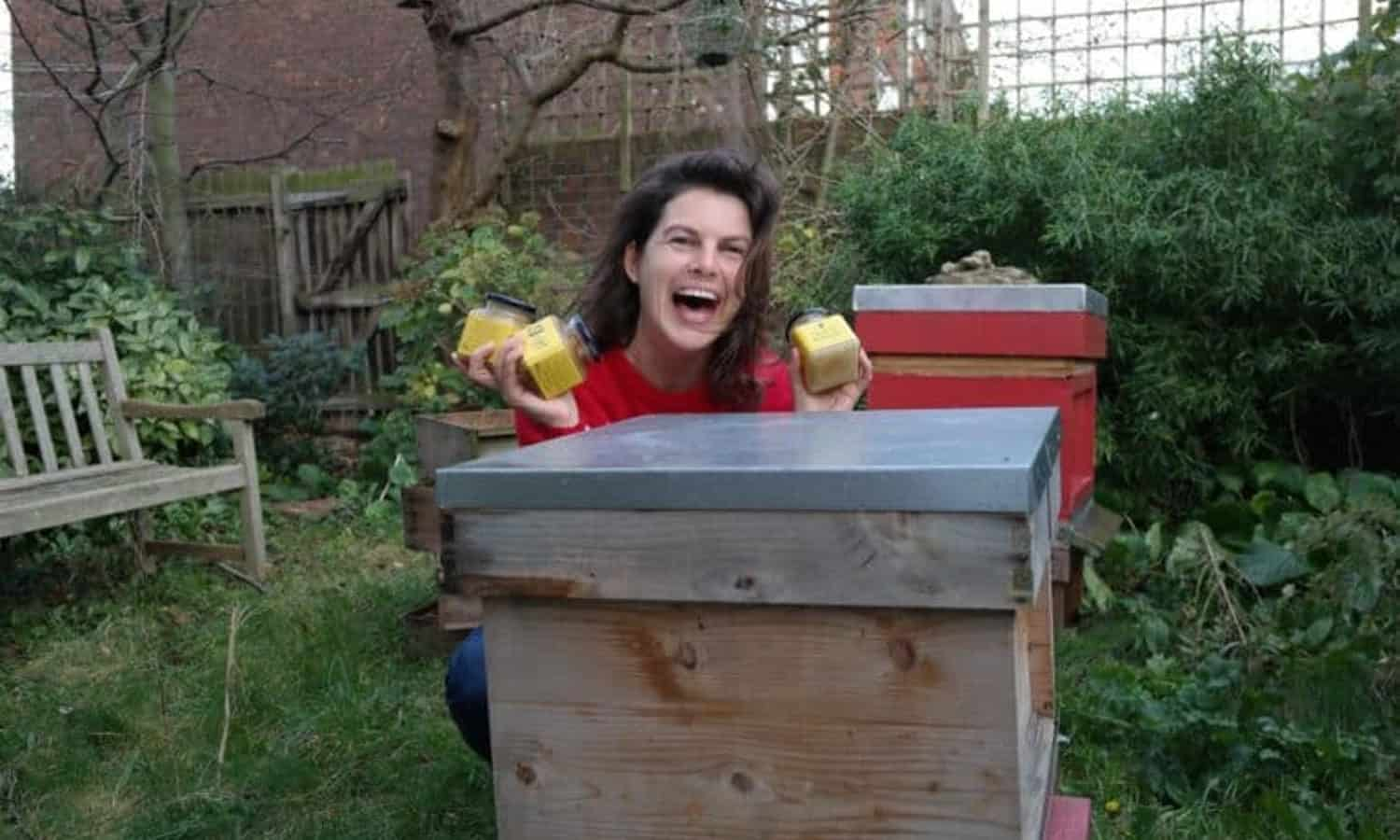 Emily Abbott, the founder of Hive & Keeper Ltd, strives to increase locally grown honey products while working to decrease the number of imported products.
