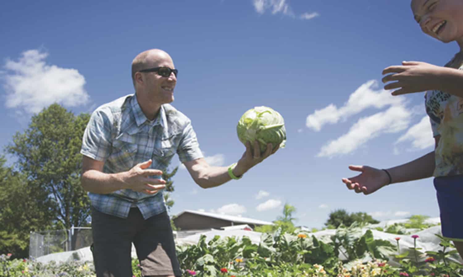 Fred Haberman's marketing agency and aquaponics farm have helped push organic into the mainstream, leading the way for a more transparent food system and, little-by-little, reducing our dependence on chemical agriculture.