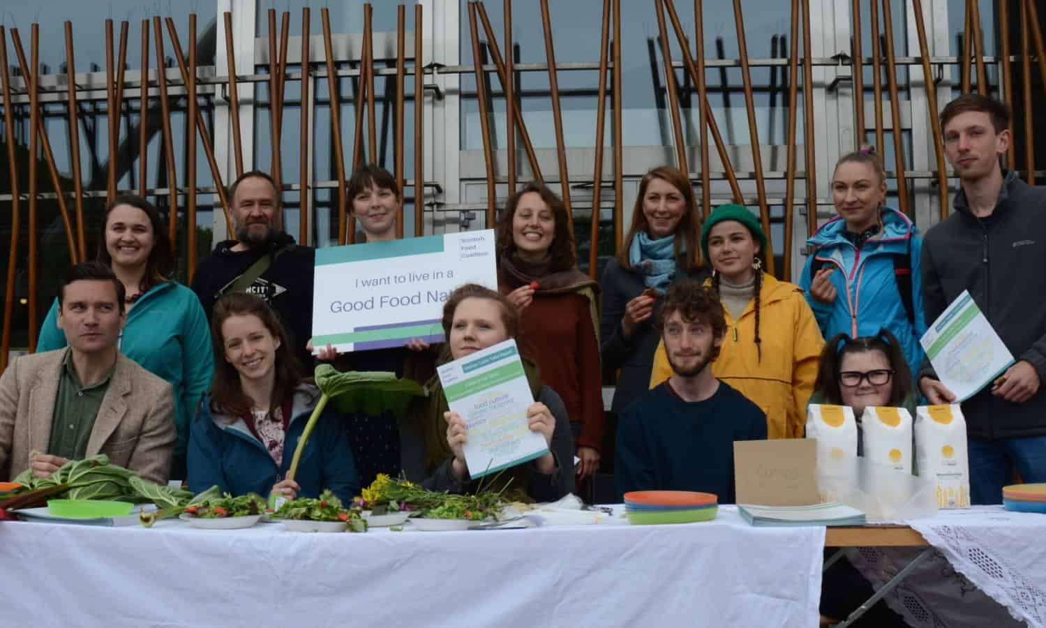 The Scottish Food Coalition is proposing a Good Food Nation Bill which can transform the food system and guarantee the universal right to healthy and nutritious food.
