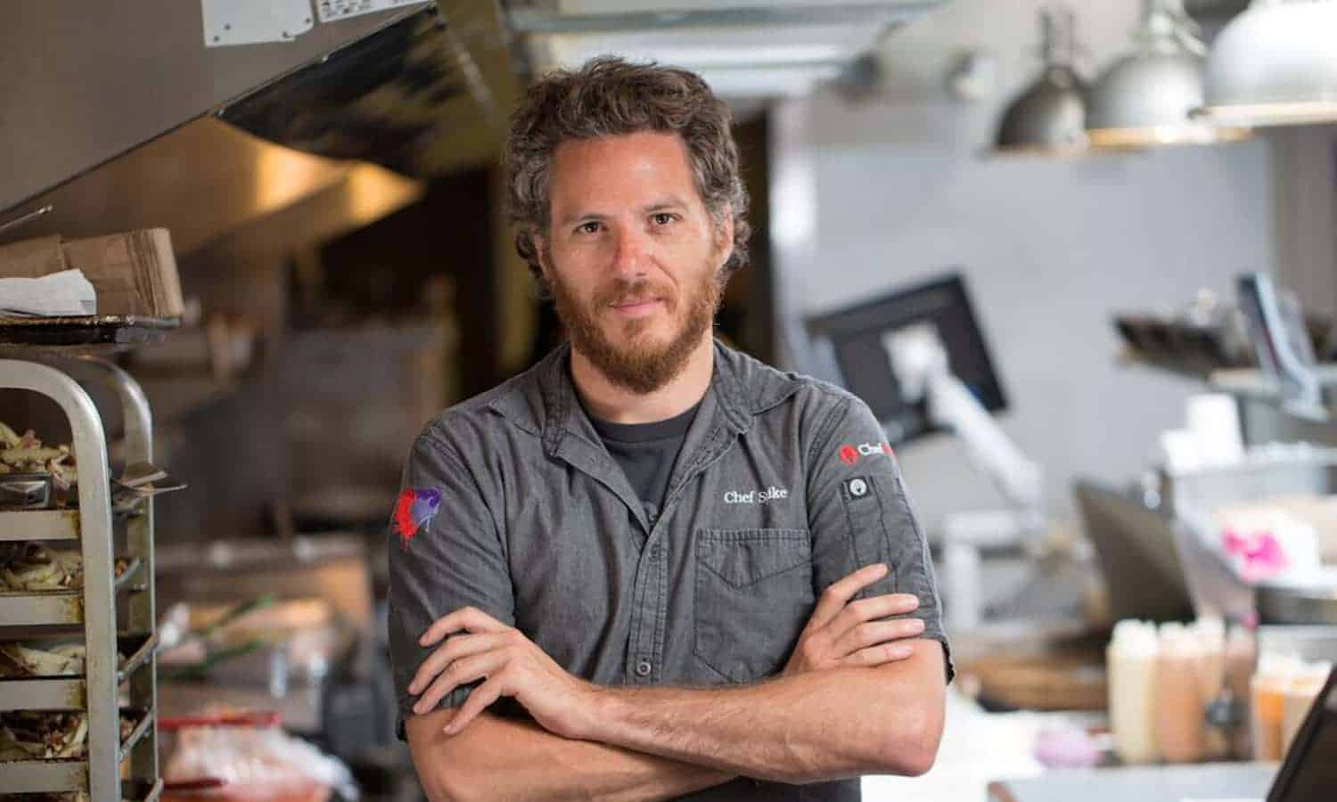 On Food Talk, Spike Mendelsohn encourages chefs to reach beyond their kitchen walls, improving the communities they cook for by improving food policy.