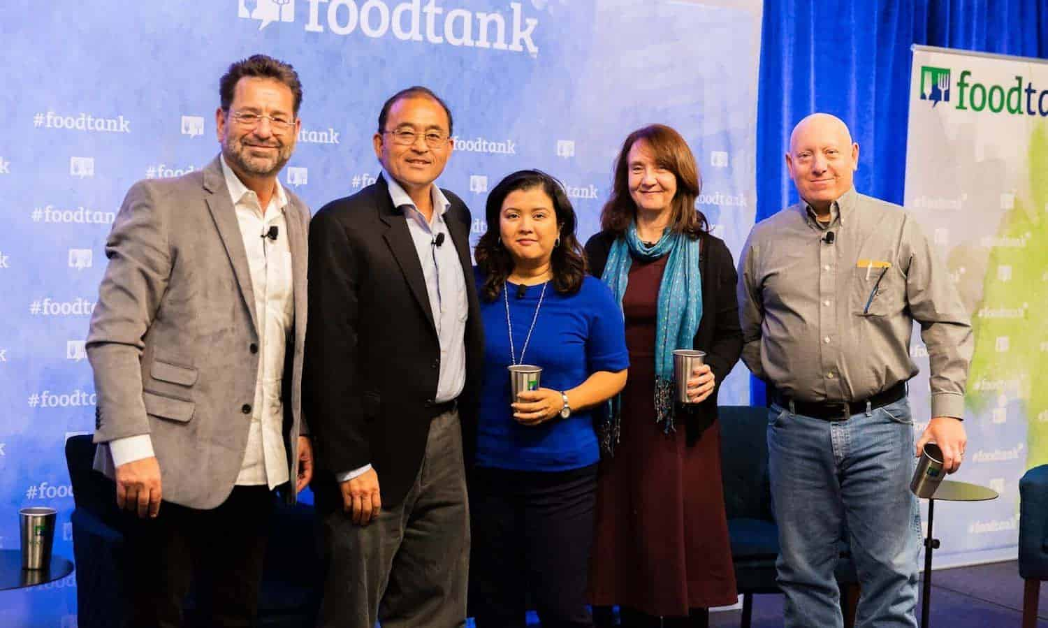 "Farmers talk labor, climate, change, and new agricultural ideas from young people in the 2018 San Diego Food Tank Summit ""Farming for a Better Food System"" panel"