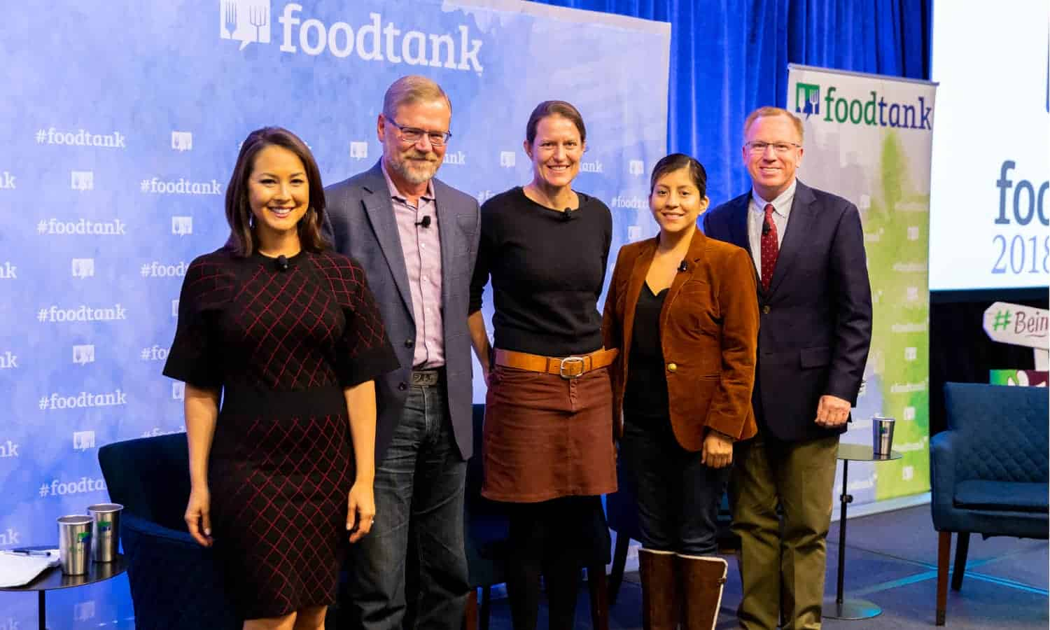 At Food Tank's San Diego Summit, a panel of academics, activists, and NGO organizers examine the practices and policies to improve food sustainability.