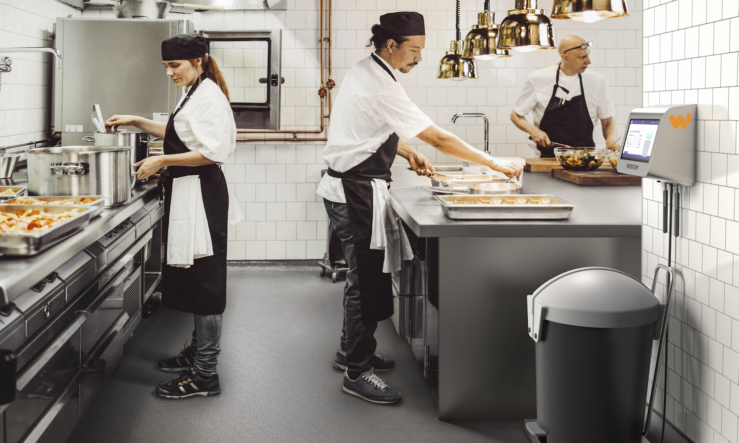 British technology company Winnow Solutions releases a new artificial intelligence that reduces food waste in commercial kitchens and food businesses.