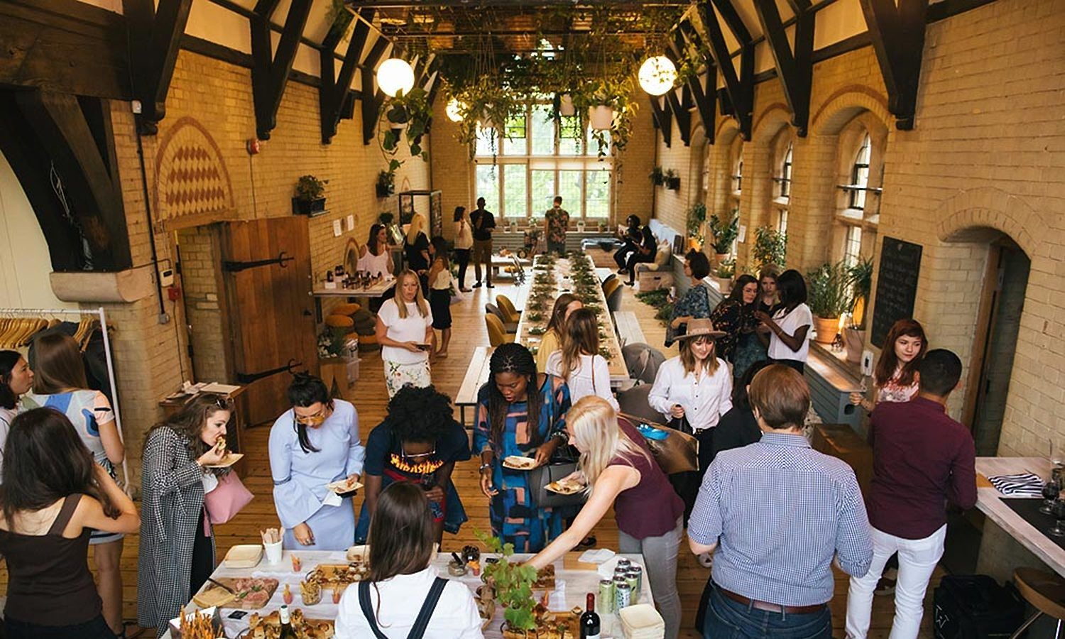Social entreprise Elysia Catering serves breakfasts and aperitifs at London events using food surplus from artisan producers.