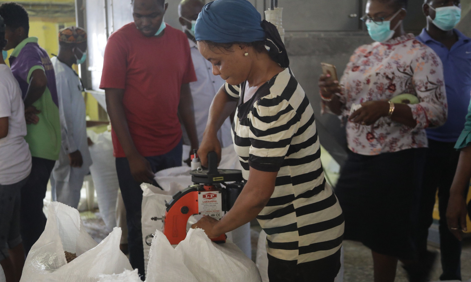 An increase in fish feed production in countries like Nigeria allow fish farmers to keep up with increased demand in fisheries.