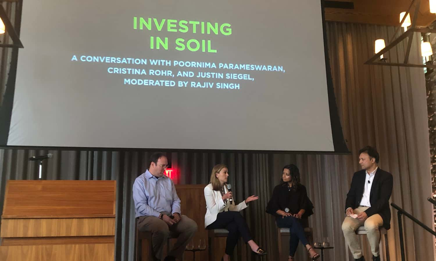 FoodShot Global has announced the four winners of their inaugural prize for food system transformations from the soil up with the MoonShot Prize.