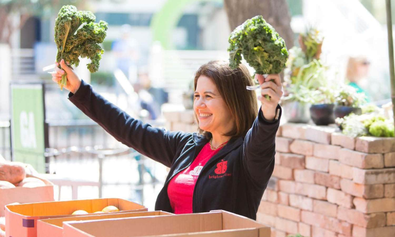 Brighter Bites co-founders Lisa Helfman and Dr. Shreela Sharma provide fresh and healthy food options to families living far away from supermarkets.