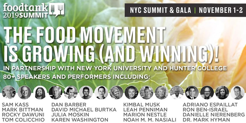 Food Tank Summit: New York - How Food Businesses Are