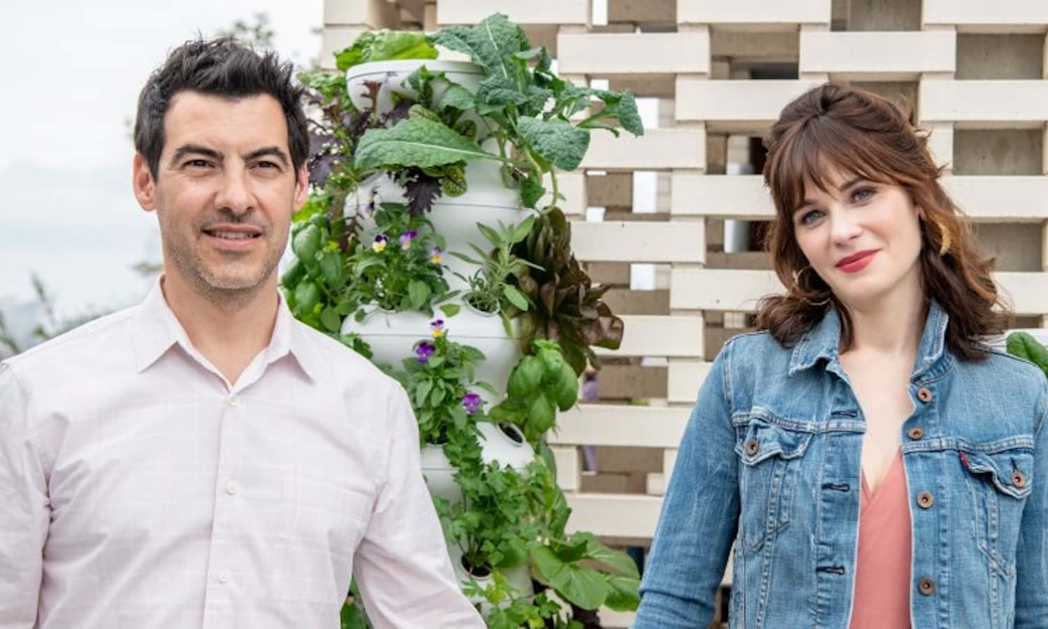 Hollywood producer Jacob Pechenik and his wife, actress Zooey Deschanel, started The Farm Project and Lettuce Grow to bring people closer to farms.