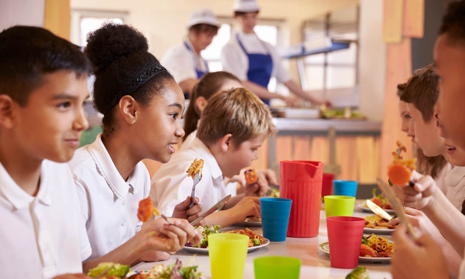 Faced with nation-wide closures in response to COVID-19, school authorities and partners are stepping up to feed the 30 million children that depend on school food service each day.
