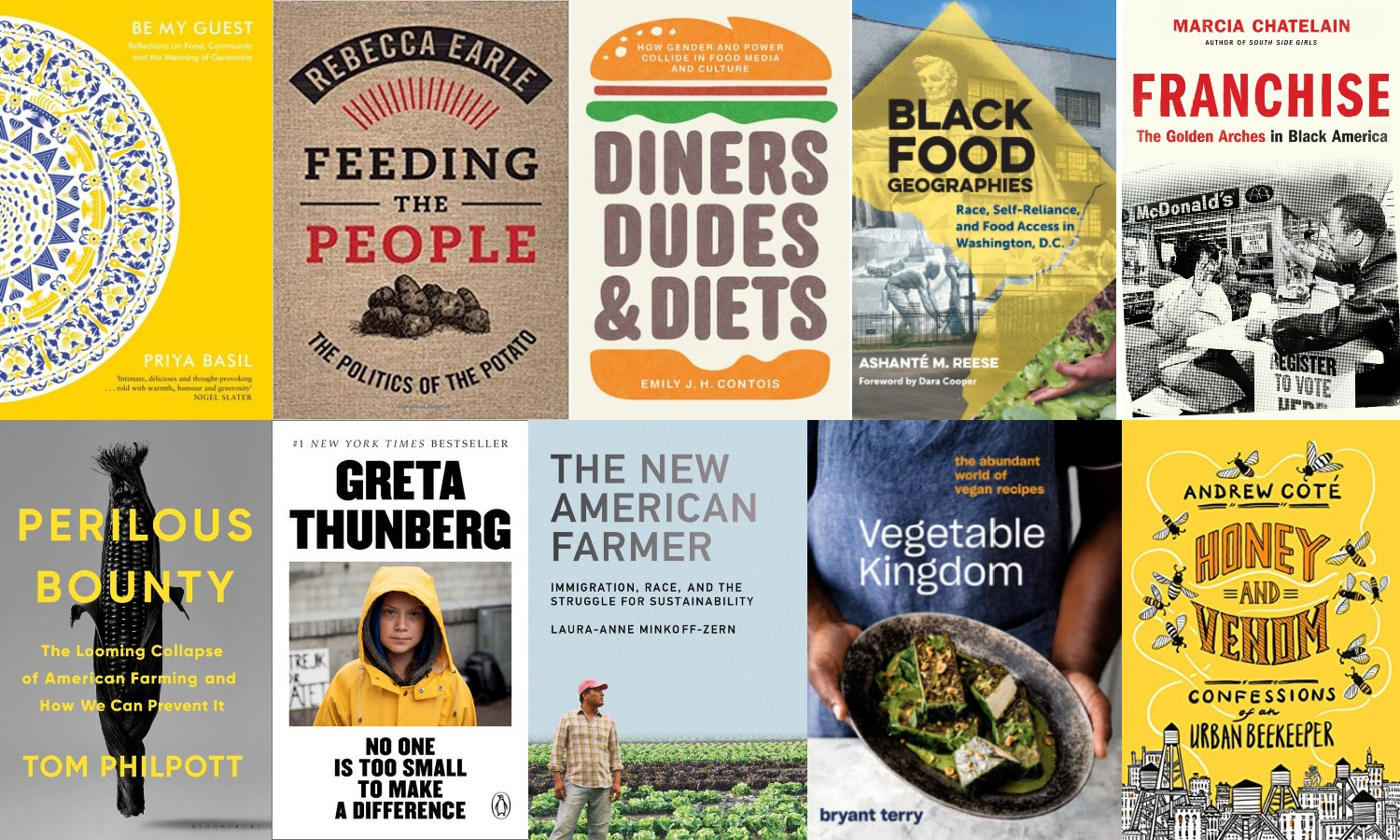 Food Tank's summer 2020 reading list includes books on a wide range of topics, including food access in Black communities, emergency relief, and tech.