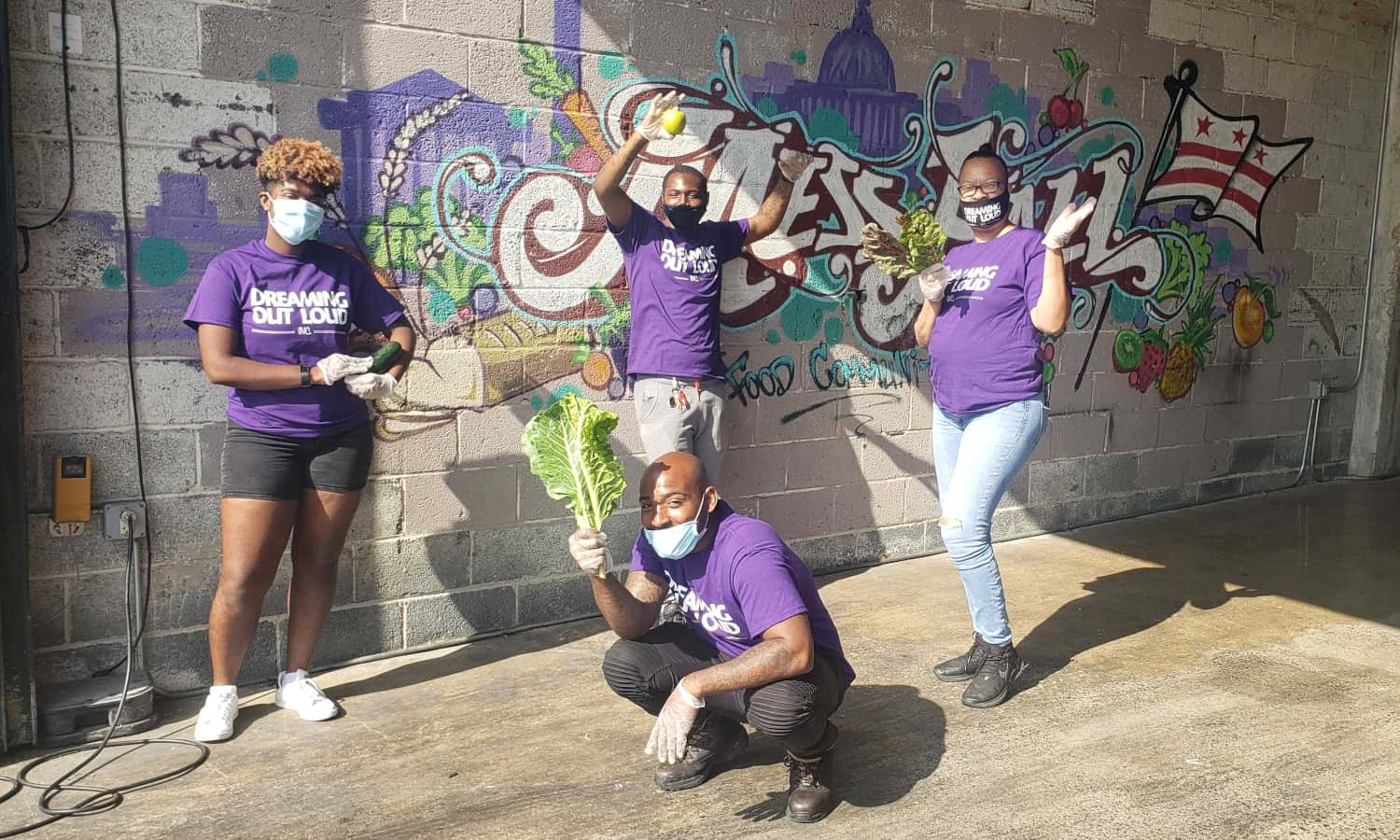Dreaming Out Loud receives ReFED grant to recover 500,000 pounds of food in Washington D.C.'s Wards 7 and 8