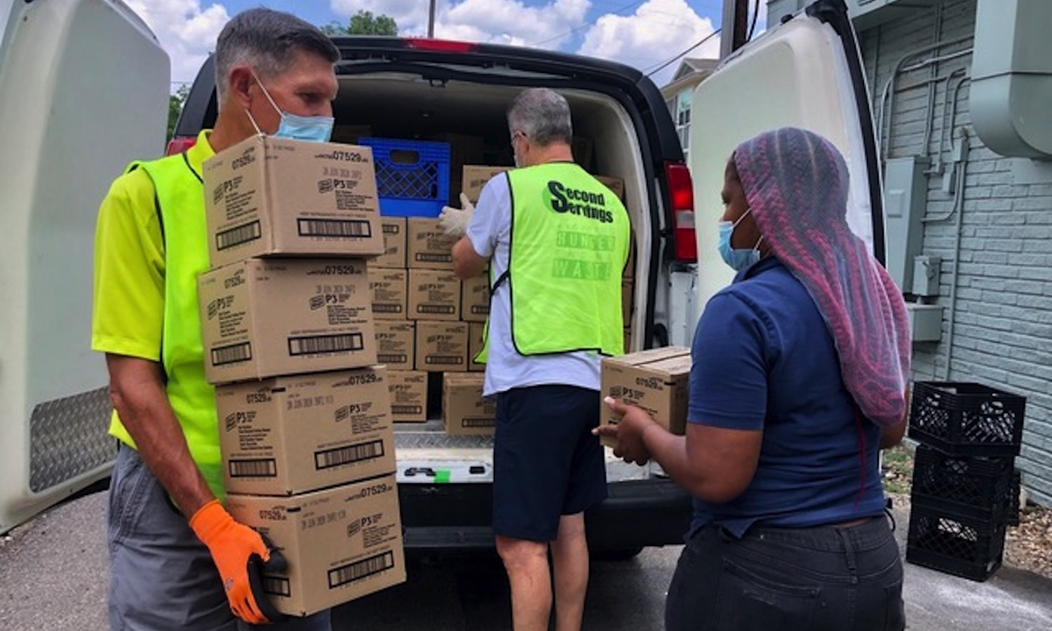 With help from the ReFED Fund, Second Servings of Houston expands food rescue operations in midst of a global pandemic.