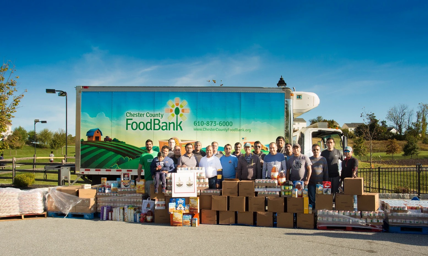 Diwali Food Drive is helping provide food to people in need in Chester County, PA during Diwali