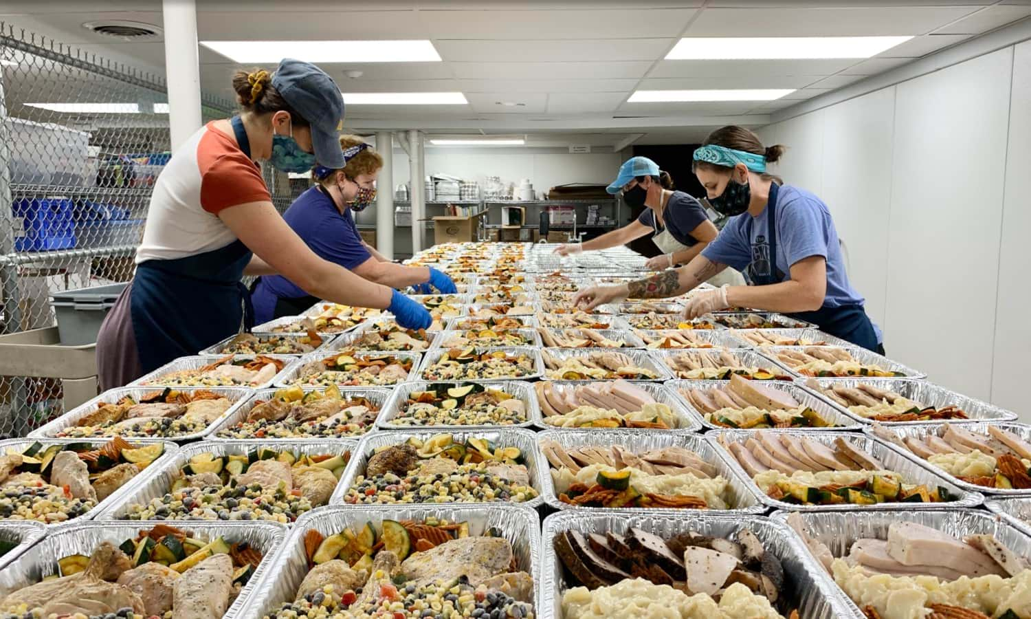 """Cincinnati organization La Soupe is fighting hunger and food waste through their mission to """"Rescue Transform Share"""" by sharing meals with those in need."""