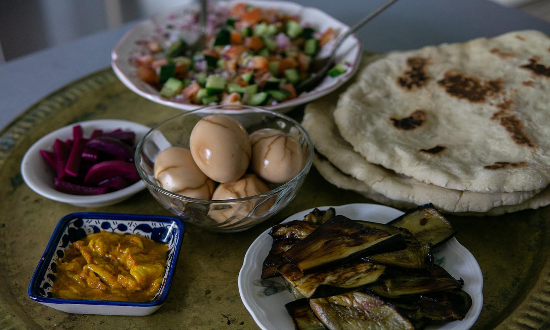 Awafi Kitchen combines Iraqi and Jewish cuisines