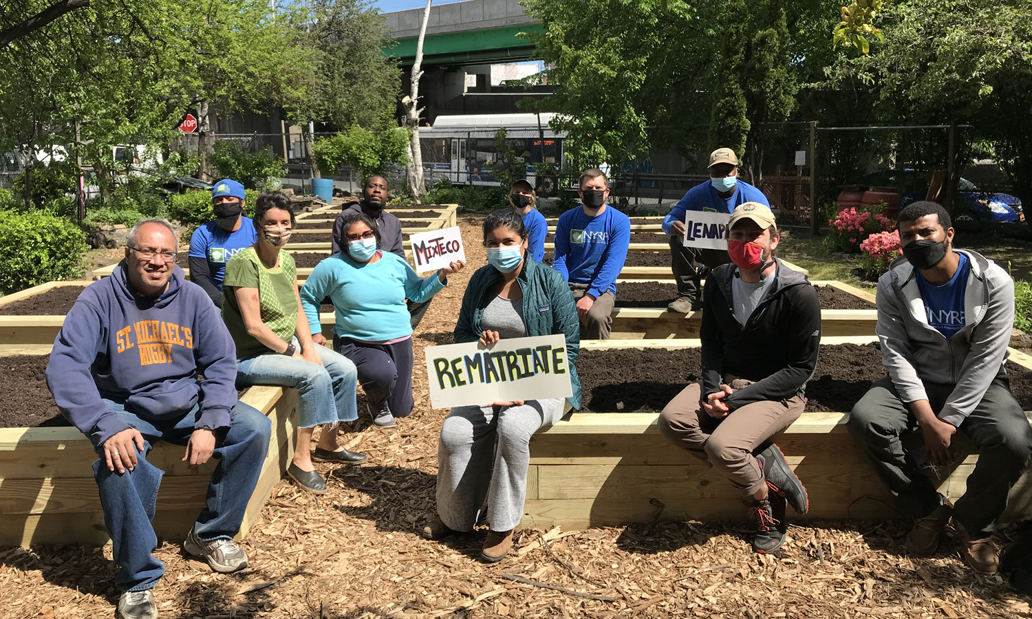 NYC Nonprofit Helps Restore Community Garden in the South Bronx, Increasing Access to Fresh Produce and Promoting Food Sovereignty