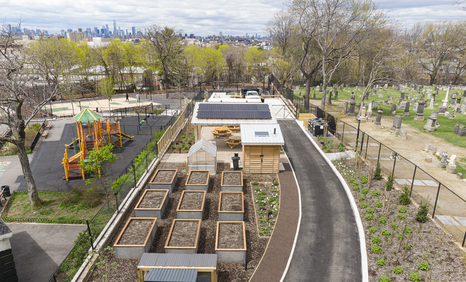 NYC Nonprofit Revamps Community Garden in Central Brooklyn, Bringing in Arts and Compost Programs